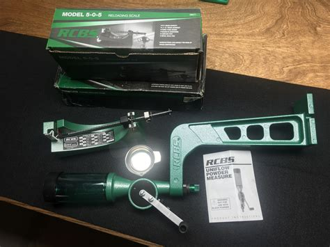 Powder Reloading Scales And Measuring Devices - Rcbs.