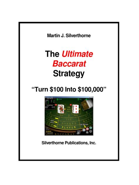 [pdf] Power Craps Strategy - Silverthorne Publications.