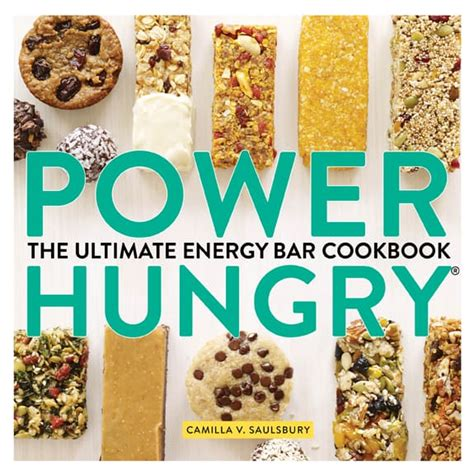 Power Hungry: The Ultimate Energy Bar Cookbook: Amazon.it.