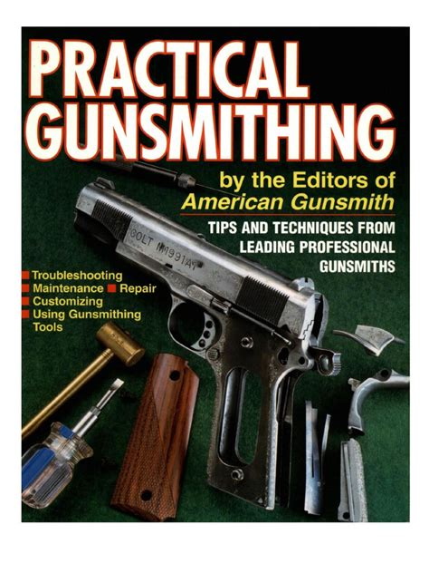 Practical Gunsmithing - American Gunsmith - 1996 Pdf .