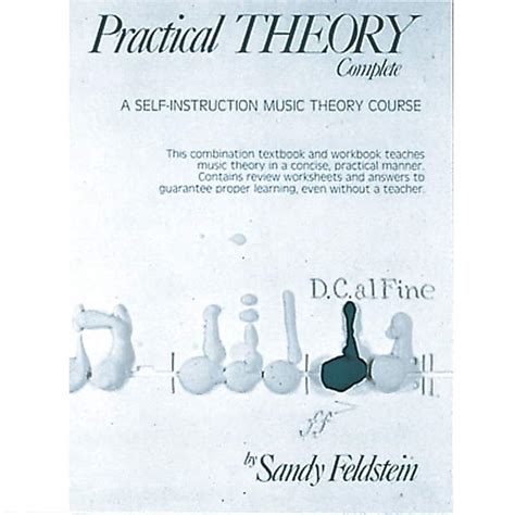 [pdf] Practical Theory Complete A Self Instruction Music Theory .