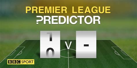 @ Predictor - Football - Bbc Sport.