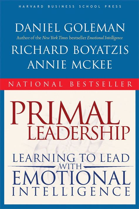[pdf] Primal Leadership Learning To Lead With Emotional .