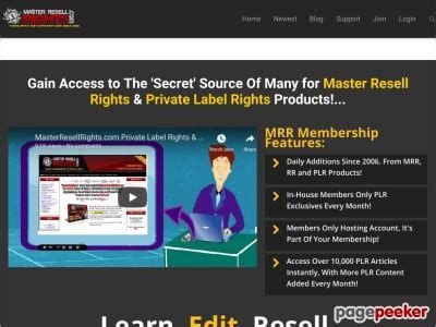 [click]private Label Rights Plr  Master Resale Rights Resell .