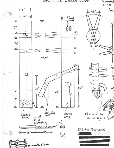 Pro Wooden Dummy Plans Pdf