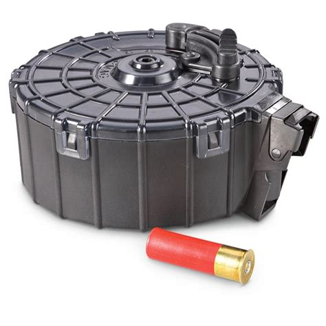 Promag Saiga 12 Gauge Drum Magazine 20 Rounds - 190515 .