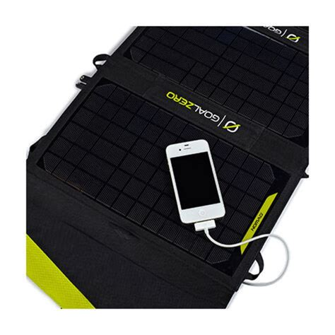 Product Info For Goal Zero Nomad 20 Solar Panel - Campsaver.