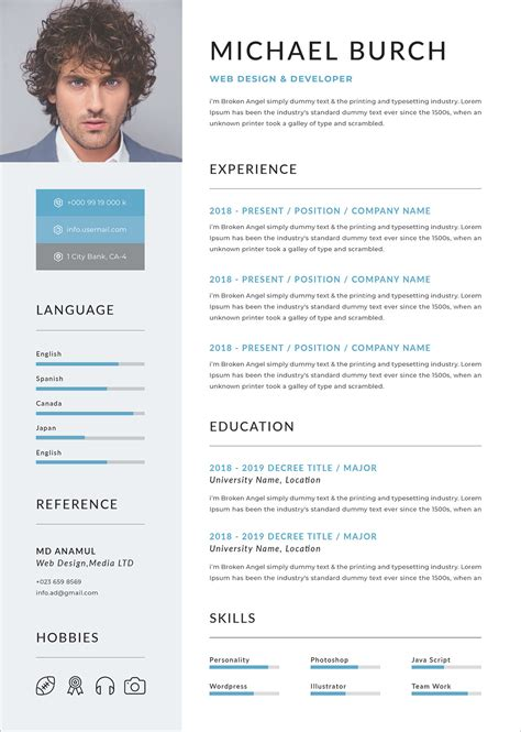 a professional two page investment analyst cv example    resume    professional resume template free online