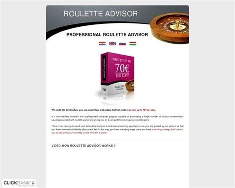 @ Professional Roulette Advisor - Affiliate Marketing Arena.