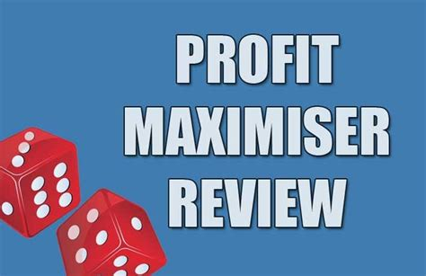 Profit Maximiser Review (2019) - Mike Cruickshank System Fully.