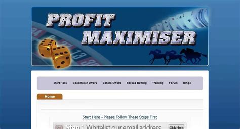 Profit Maximiser Review 2019 - Multiple Strategies For Making Profits -.