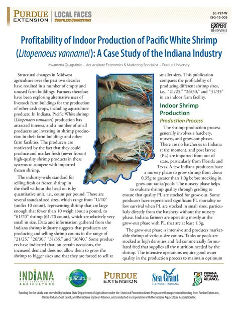 [pdf] Profitability Of Indoor Production Of Pacific White Shrimp .
