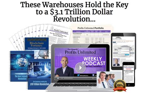 @ Profits Unlimited Newsletter By Paul Mampilly - Blockchain .
