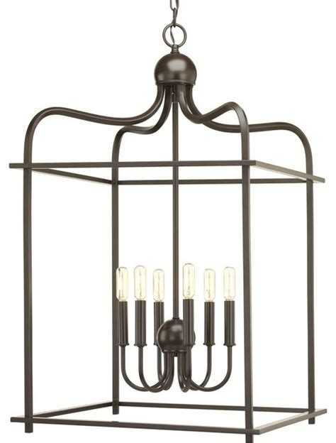 Progress Lighting Assembly Hall 8-Light Pendant From Houzz
