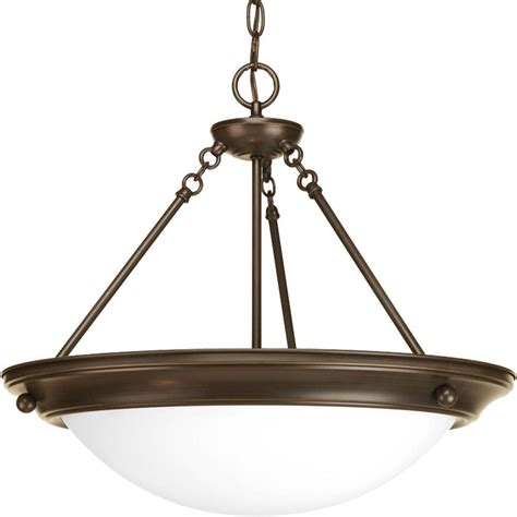 Progress Lighting Eclipse 4-Light Antique Bronze Foyer .
