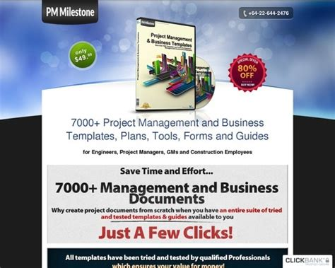 Project Management Documents - Guaranteed High Converting.