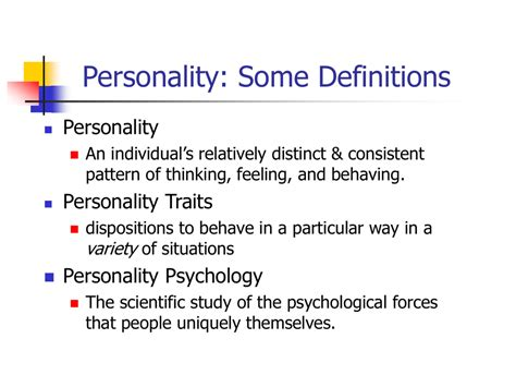@ Psych Chapter 12 Personality Theory  Measurement .