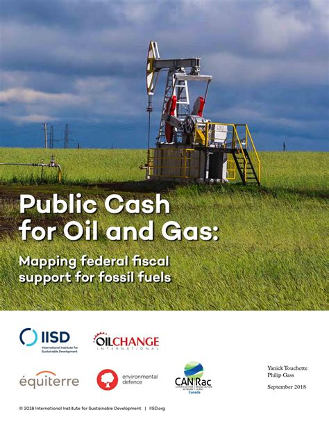 [pdf] Public Cash For Oil And Gas - Iisd Org.