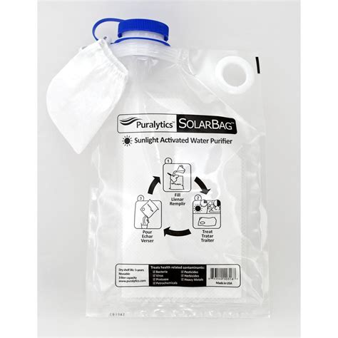 Puralytics Solarbag Water Purifier - Sportsman S News.