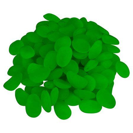 Pure Garden Glow In The Dark Pebbles 100-Piece -82-3401 .