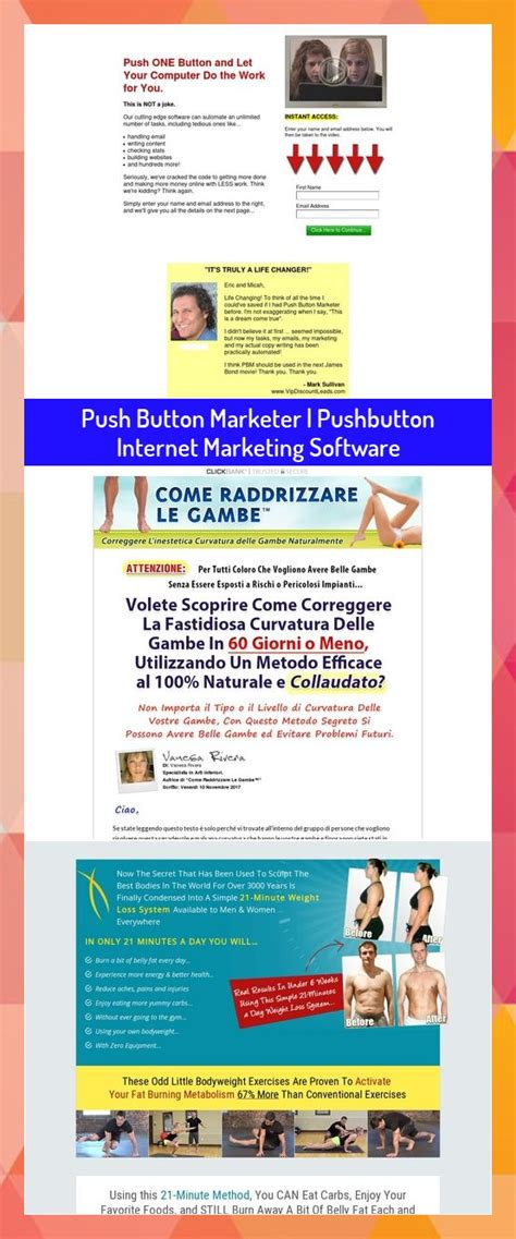 [click]push Button Marketer  Pushbutton Internet Marketing Software.