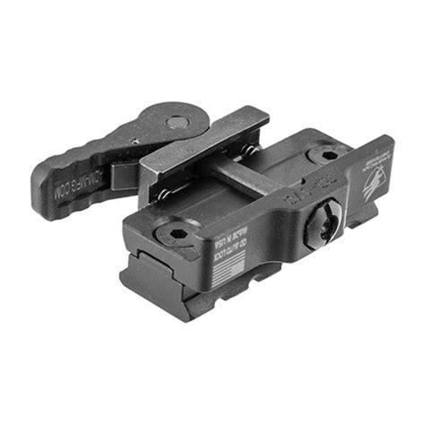 Quick-Release Accessory Mount Picatinny Qd Mount 5-Lug .