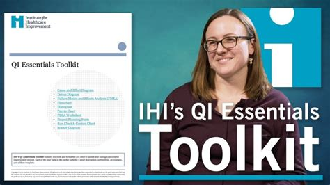 [click]quality Improvement Essentials Toolkit - Ihi.