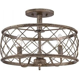 Quoizel Rdy1714cs Dury Cage Semi-Flush Ceiling Lighting 3 .