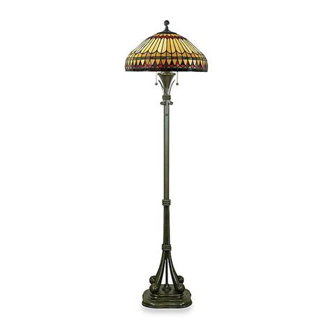Quoizel West End Tiffany 2 Light Floor Lamp - Internal .