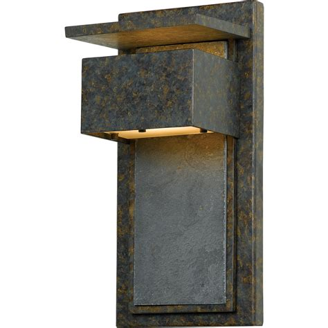 Quoizel Zephyr Muted Bronze Outdoor Wall Light  Qzzp8418md.