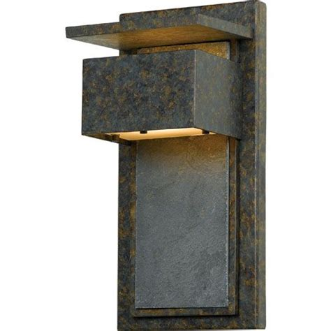 Quoizel Zephyr Muted Bronze Outdoor Wall Mount Zp8414md .
