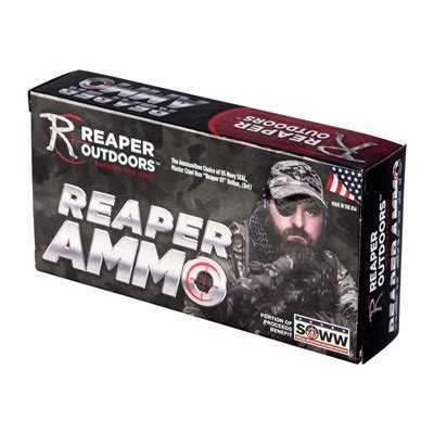 Reaper Ammunition Llc 5 56mm Nato 77gr Open Tip Match Ammo .