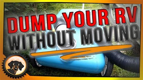 Rv Quick Tip - How To Dump The Grey And Black Tank - Youtube.