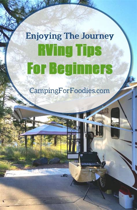 @ Rving Tips For Beginners Enjoying The Maiden Journey.