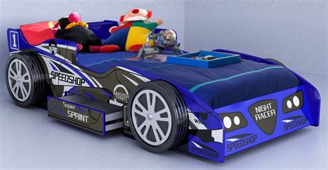 Race Car Bed Plans