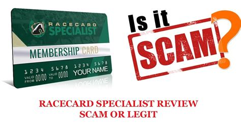 Racecard Specialist Review-Scam Or Legit? - Youtube.