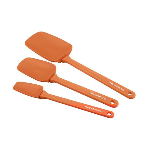 Rachael Ray 3-Piece Spatula Set Orange - Walmart Com.