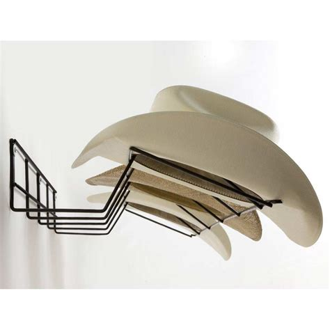Rack Em Racks Cowboy Hat Rack Black