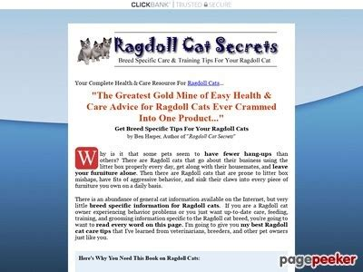 [click]ragdoll Cats   Must Have Book For Your Ragdoll Cat .