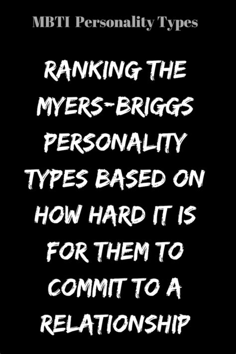 @ Ranking The Myers-Briggs Personality Types Based On How .