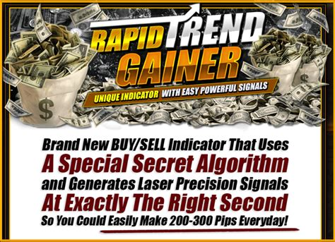 Rapid Trend Gainer - New Hot Forex Product Systems Review.