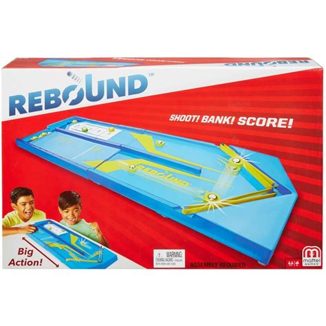 [click]rebound Tabletop Aim-And-Score Puck-Sliding Game - Nulledgit.