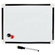Rectangle Magnetic Message Whiteboards  Ebay.