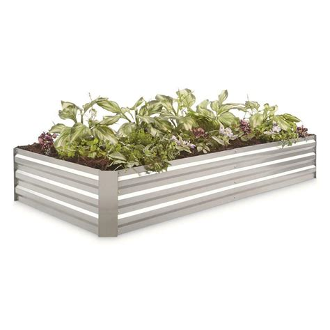 Rectangular Galvanized Planters - Sears Com.