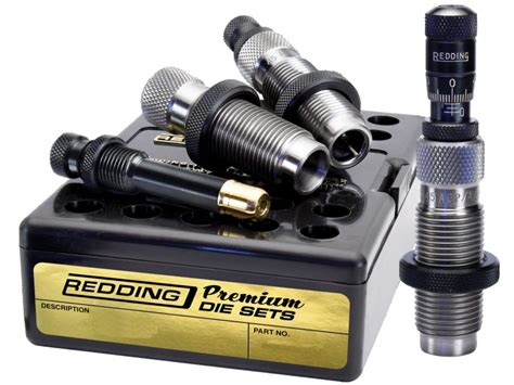 Redding Premium Handgun 3-Die Set 45 Acp.