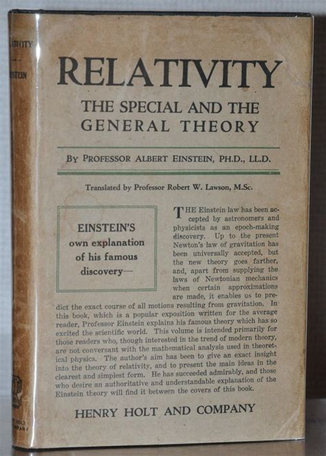 [pdf] Relativity The Special And General Theory - Ibiblio.