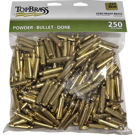 Reload With 223 Remington Rifle Brass At Midsouth Shooters.