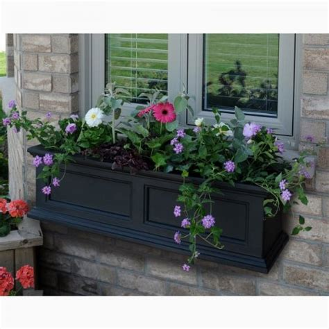 Remarkable Deal On Fairfield Window Box Black 3 Foot.