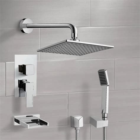 Remer By Nameek S Tsh4013 Tyga Tub And Shower Faucet Set .