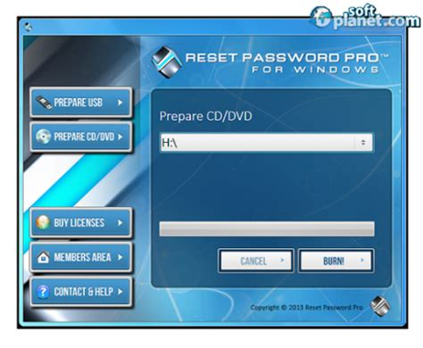 @ Reset Password Pro  Windows Password Resetter.